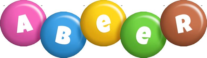 Abeer candy logo