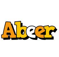 Abeer cartoon logo