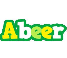 Abeer soccer logo