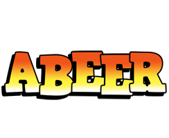 Abeer sunset logo