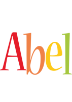 Abel birthday logo