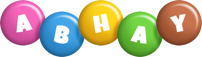 Abhay candy logo