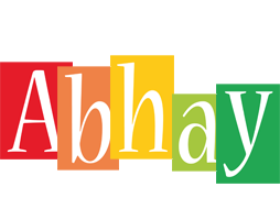 Abhay colors logo