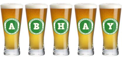 Abhay lager logo