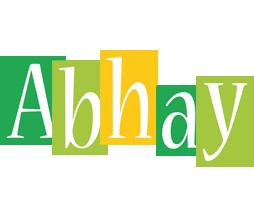 Abhay lemonade logo