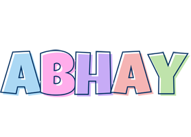 Abhay pastel logo