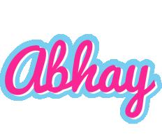 Abhay popstar logo