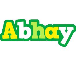 Abhay soccer logo