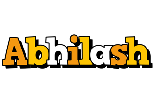 Abhilash cartoon logo