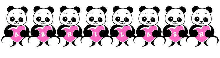 Abhilash love-panda logo