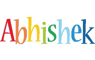 Abhishek birthday logo