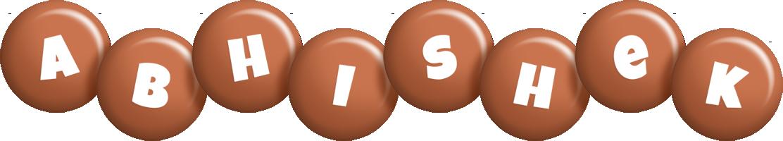 Abhishek candy-brown logo
