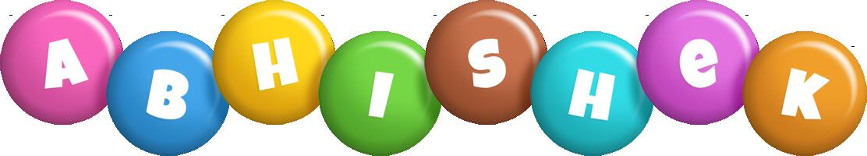 Abhishek candy logo