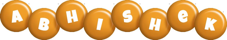 Abhishek candy-orange logo