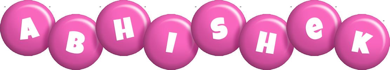 Abhishek candy-pink logo