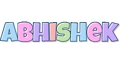 Abhishek pastel logo