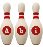 Abi bowling-pin logo