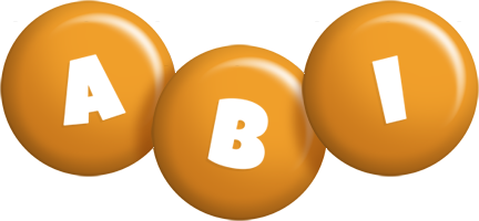 Abi candy-orange logo