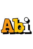 Abi cartoon logo