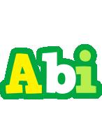 Abi soccer logo