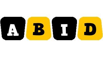 Abid boots logo