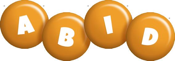 Abid candy-orange logo