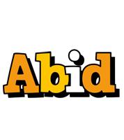 Abid cartoon logo
