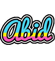 Abid circus logo