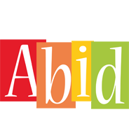 Abid colors logo