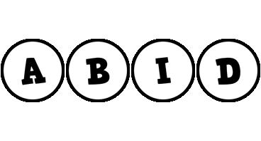 Abid handy logo