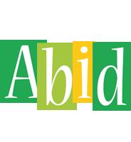 Abid lemonade logo