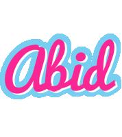 Abid popstar logo