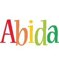 Abida birthday logo