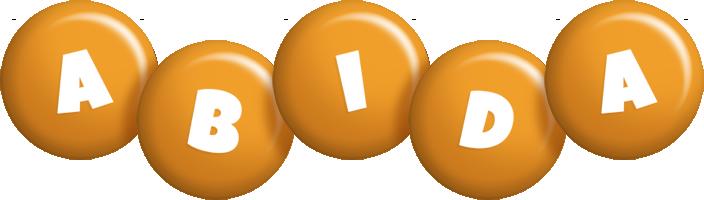 Abida candy-orange logo