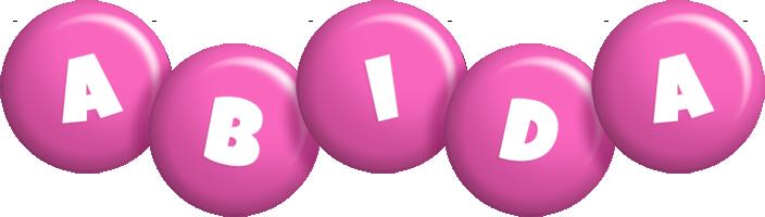 Abida candy-pink logo