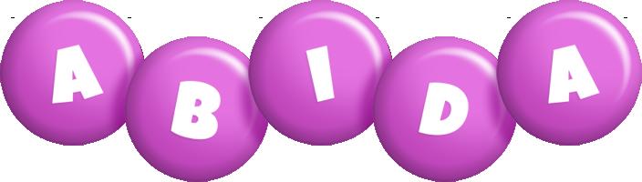 Abida candy-purple logo
