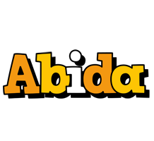 Abida cartoon logo
