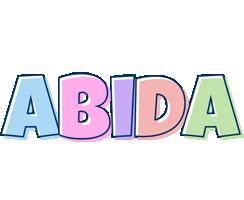 Abida pastel logo