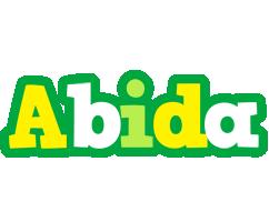 Abida soccer logo