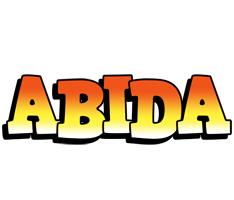 Abida sunset logo