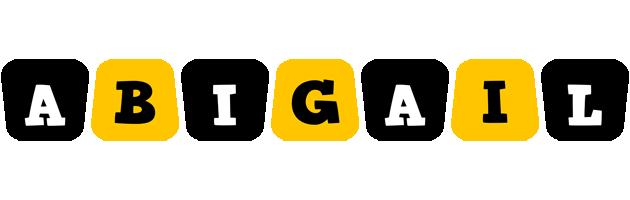 Abigail boots logo