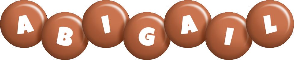 Abigail candy-brown logo