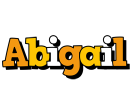 Abigail cartoon logo