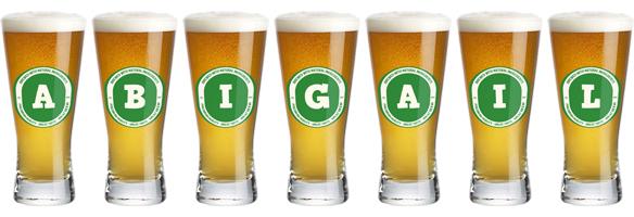 Abigail lager logo