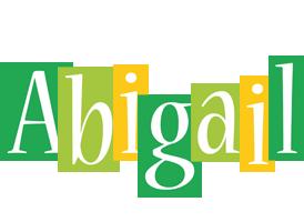Abigail lemonade logo
