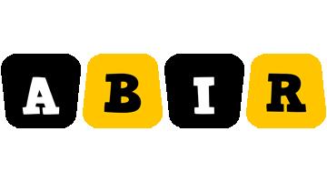 Abir boots logo