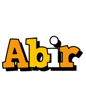 Abir cartoon logo