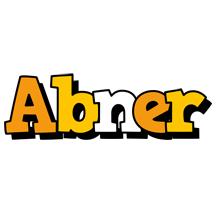 Abner cartoon logo