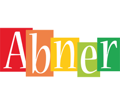 Abner colors logo