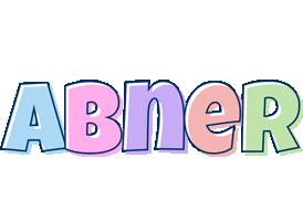 Abner pastel logo